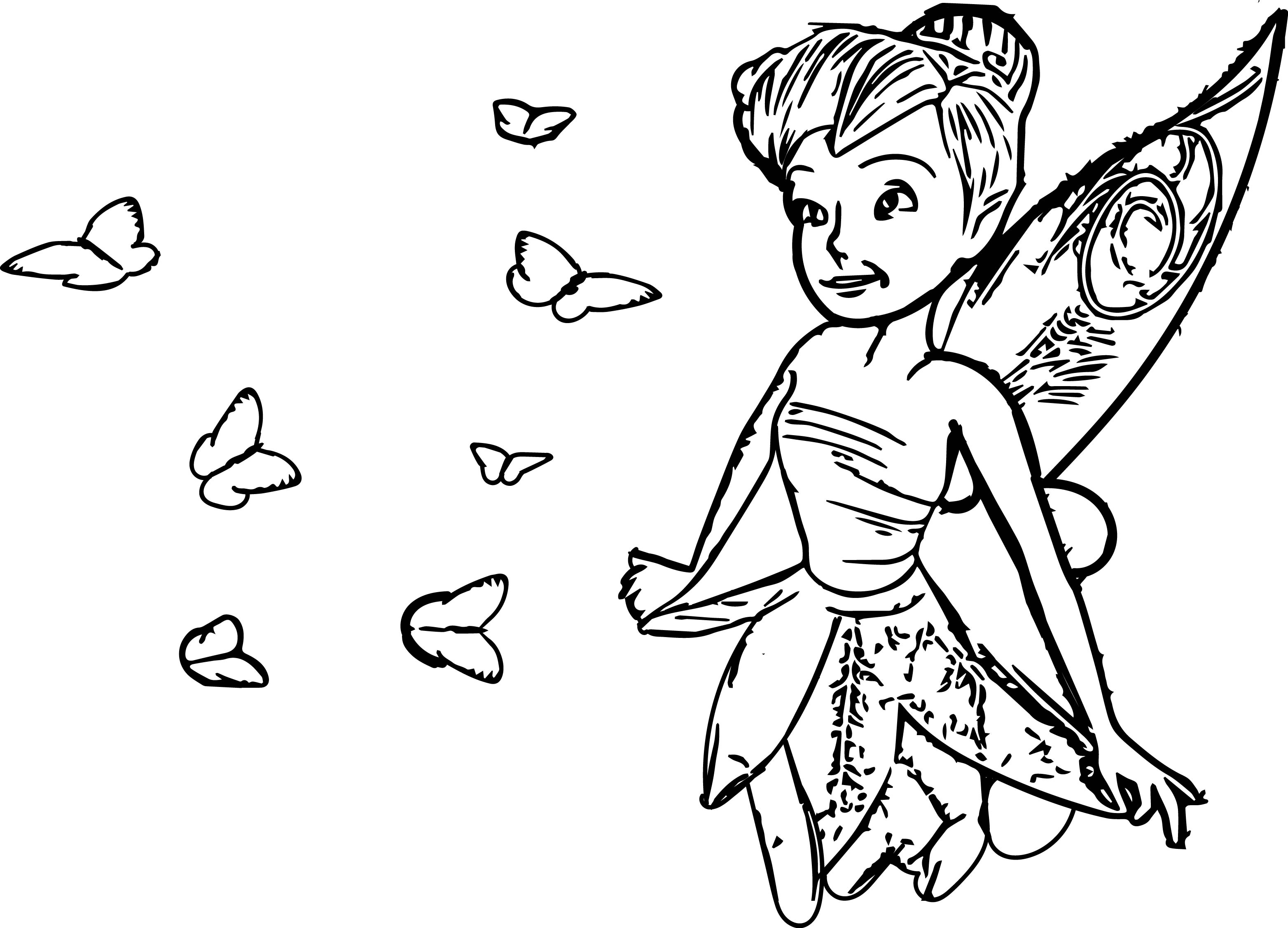 Tinkerbell We Coloring Page 10
