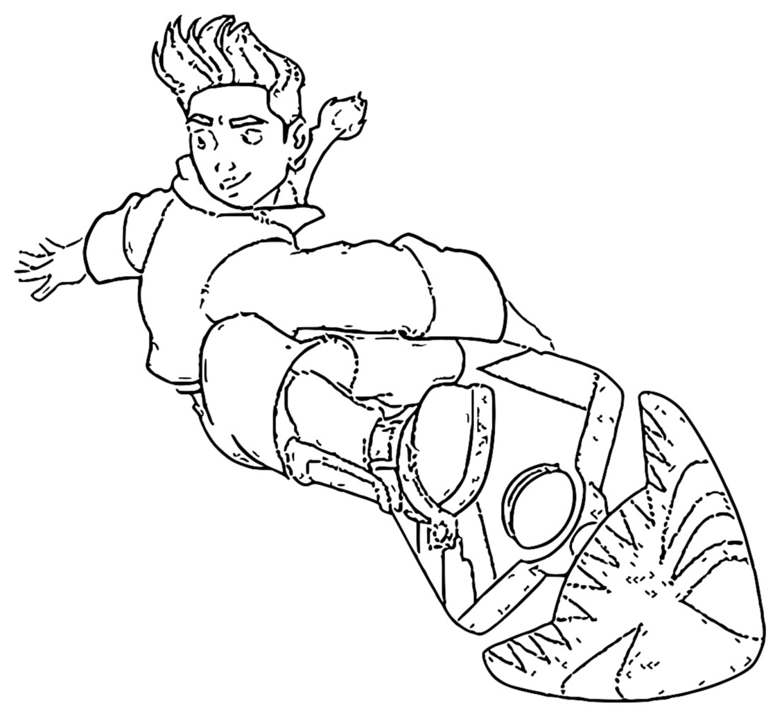 Treasure Planet 12 Coloring Pages_Cartoonized