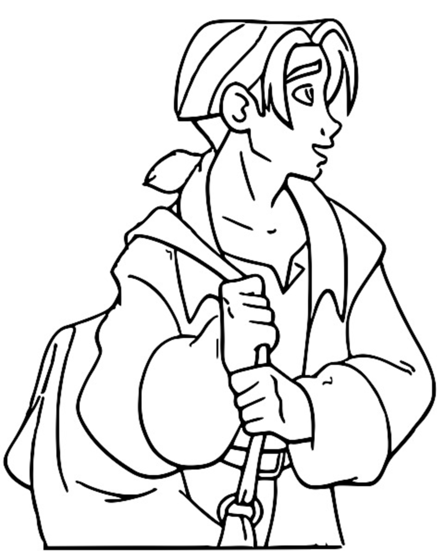 Treasure Planet 15 Coloring Pages_Cartoonized