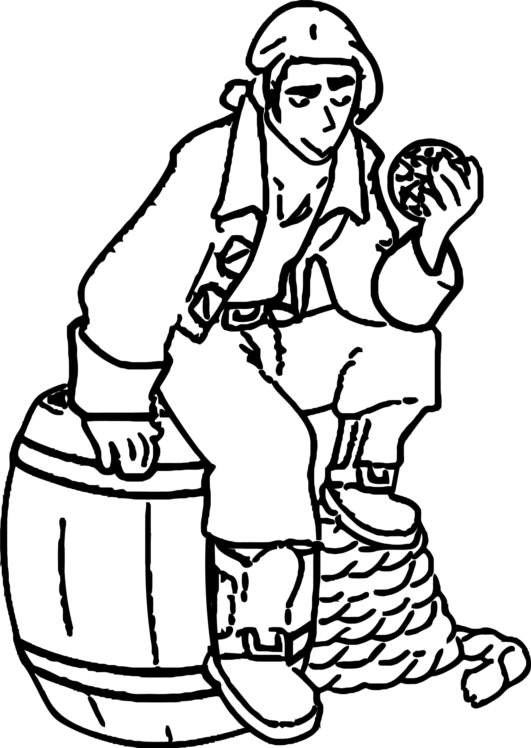 Treasure Planet Coloring Pages Cartoon