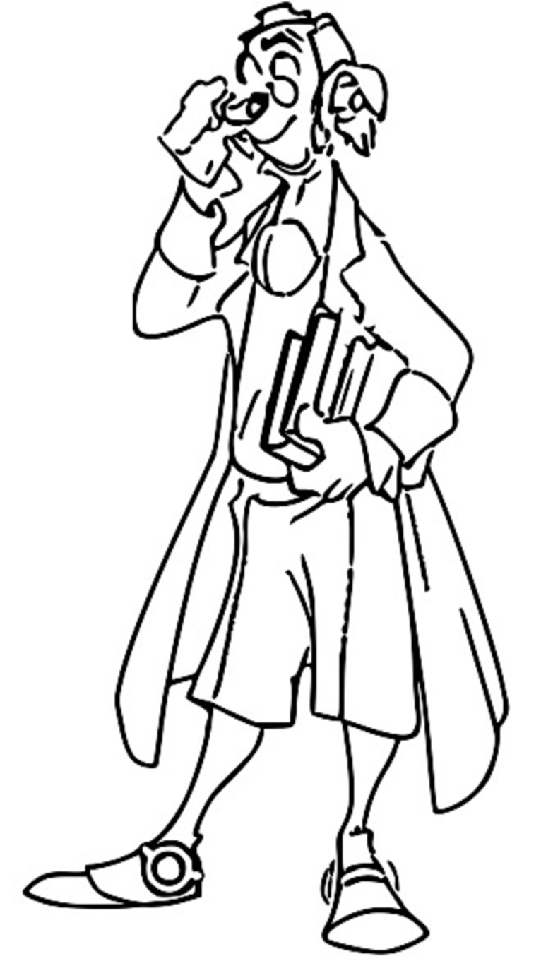Treasure Planet doppler Coloring Pages_Cartoonized