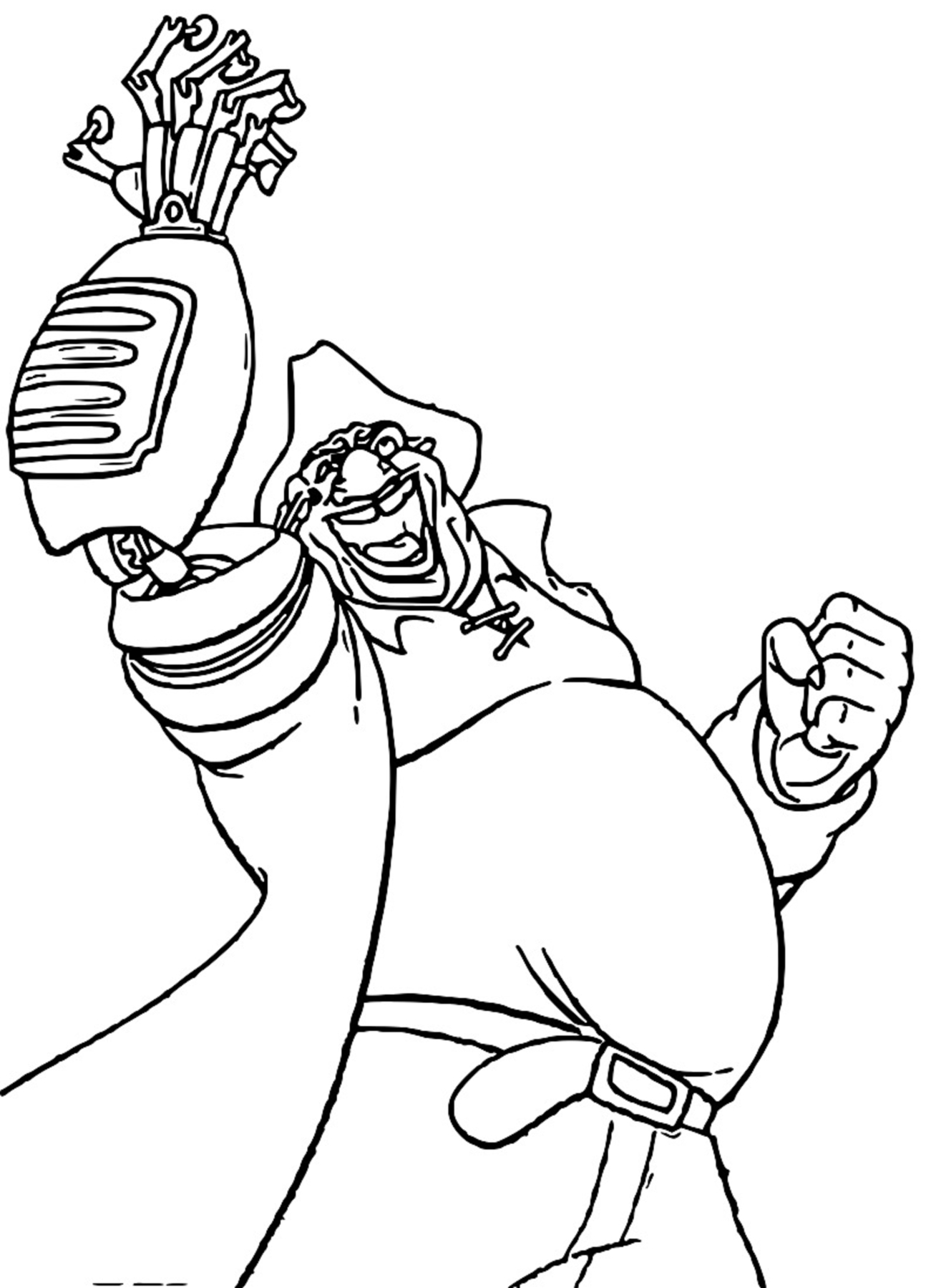 Treasure Planet im42 Coloring Pages_Cartoonized