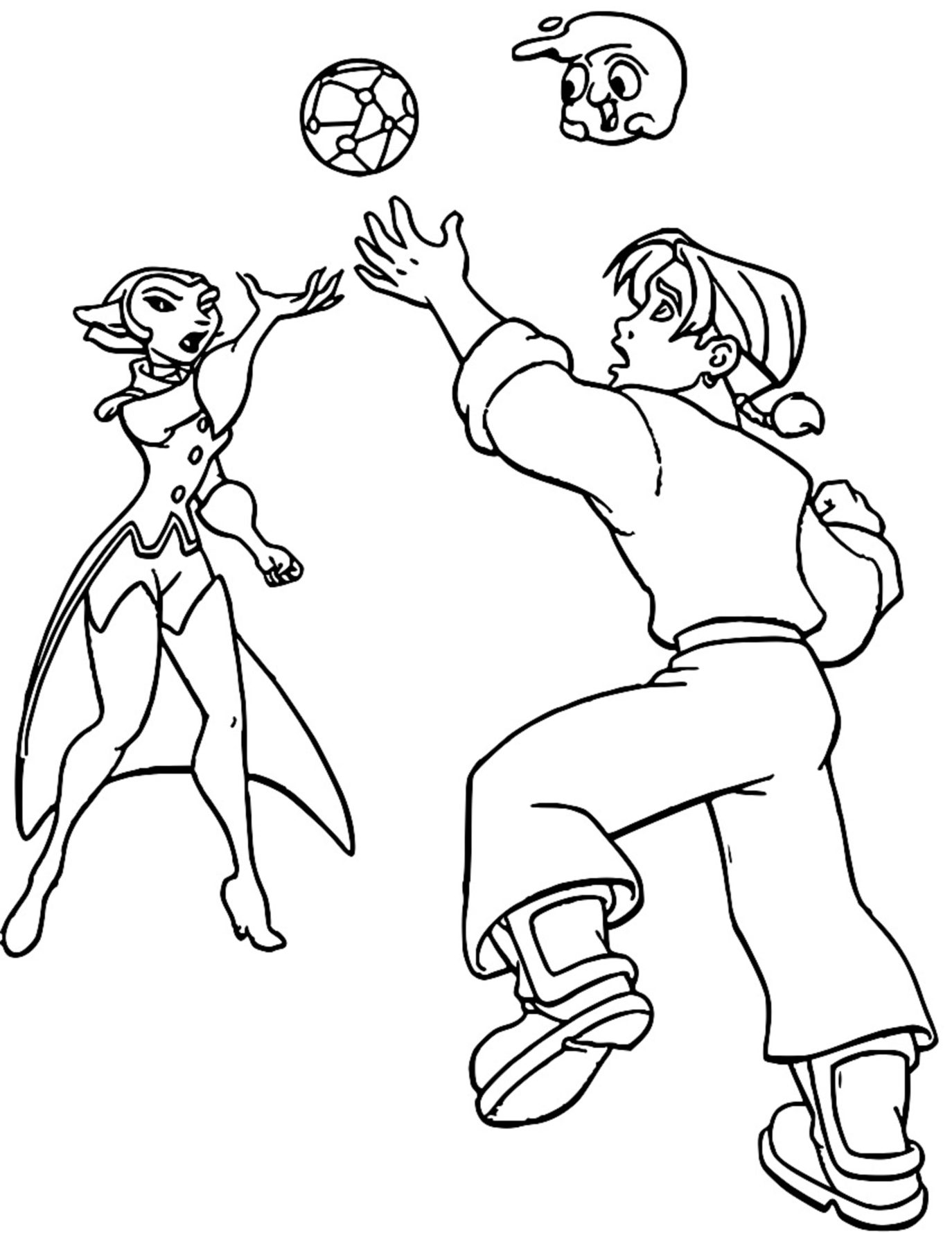 Treasure Planet im45 Coloring Pages_Cartoonized