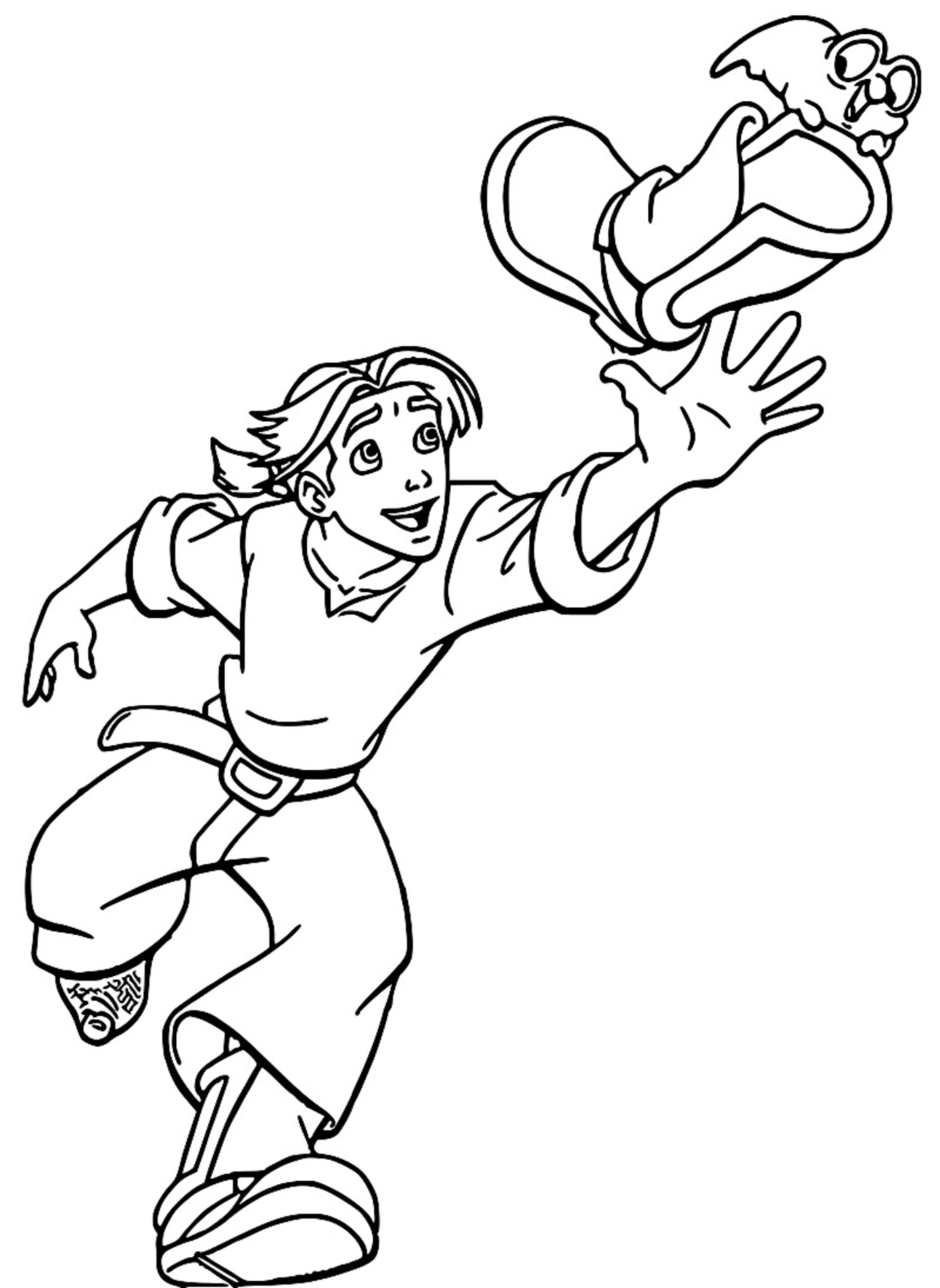Treasure Planet jim 6 Coloring Pages_Cartoonized