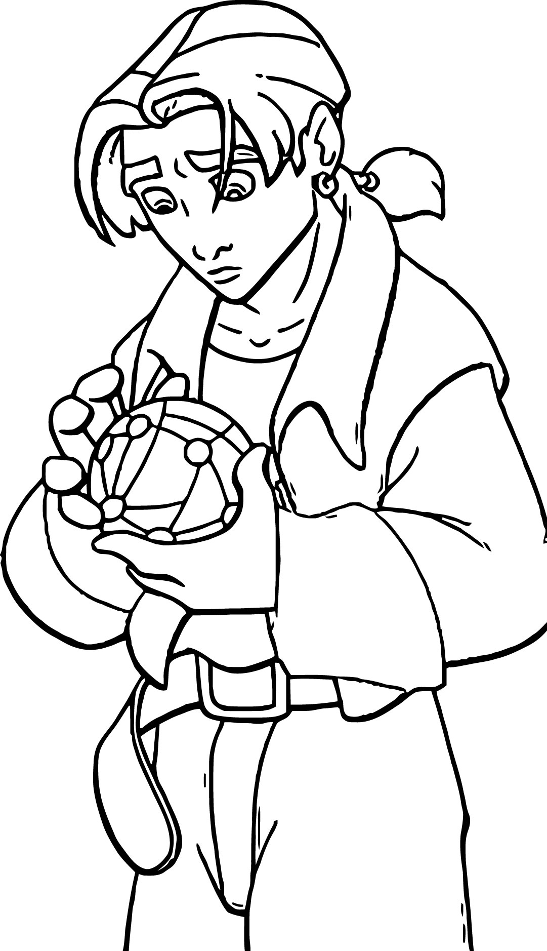 Treasure Planet jim h Coloring Pages Cartoon