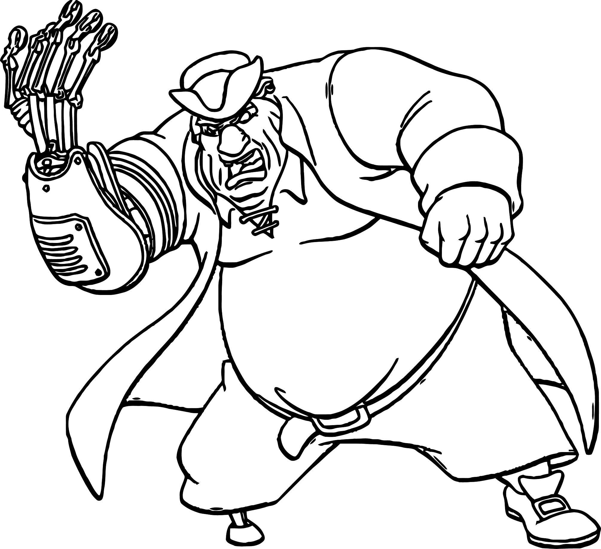 Treasure Planet pfg 37 Coloring Pages Cartoon