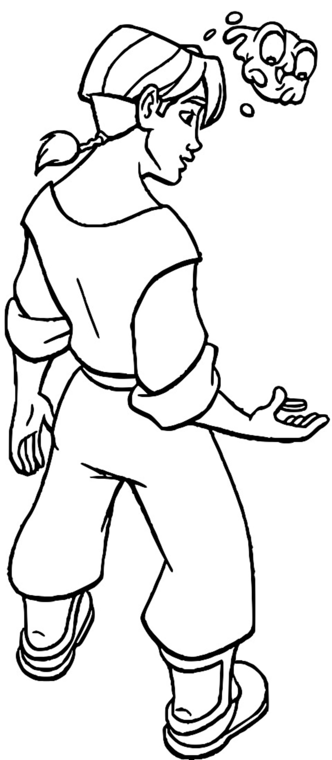 Treasure Planet pfg39 Coloring Pages_Cartoonized