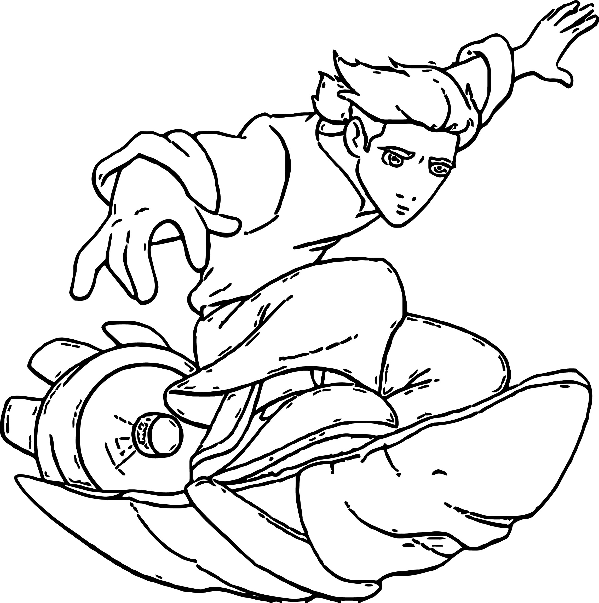 Treasure Planet tp Coloring Pages Cartoon