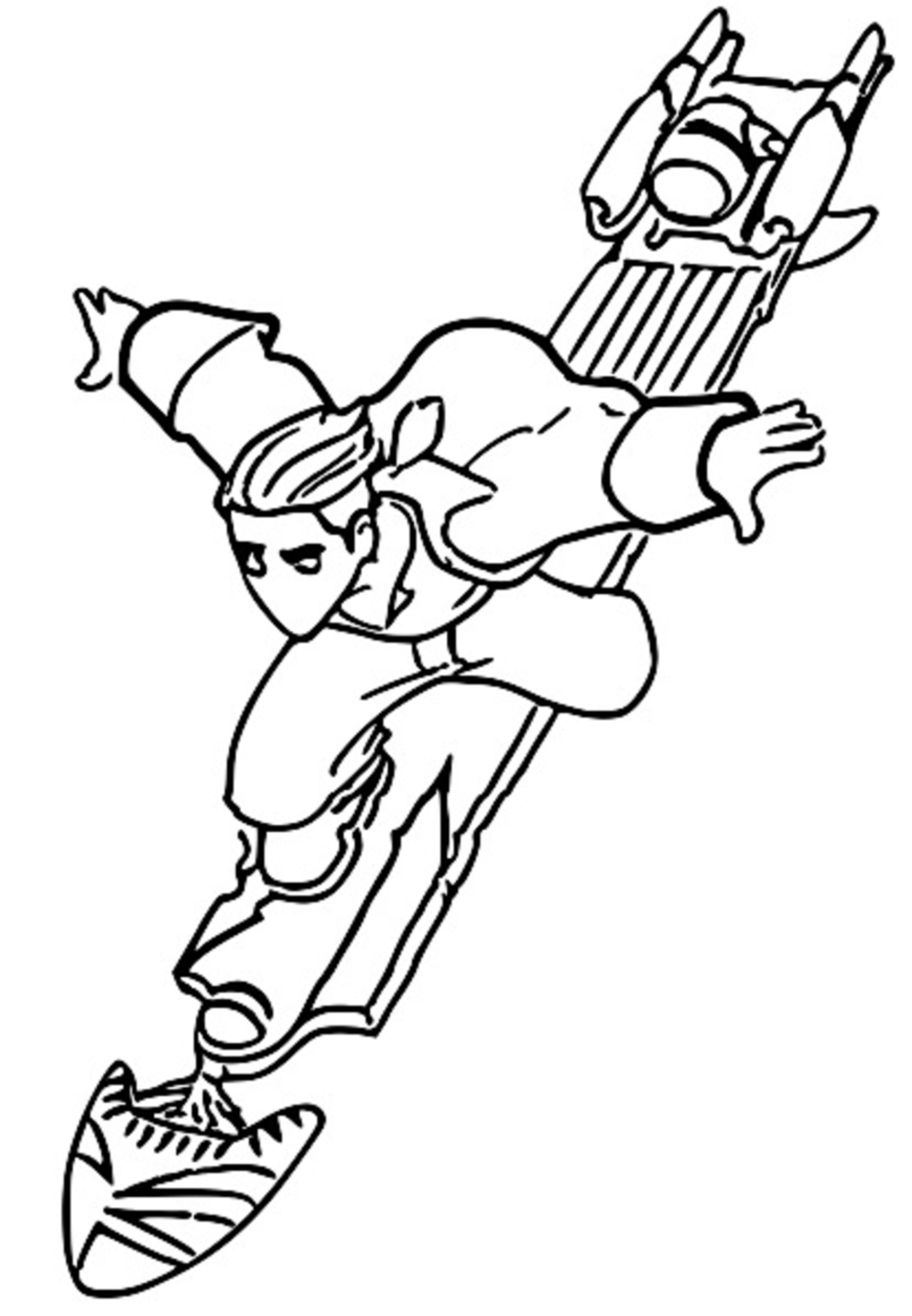 Treasure Planet tr 21 Coloring Pages_Cartoonized