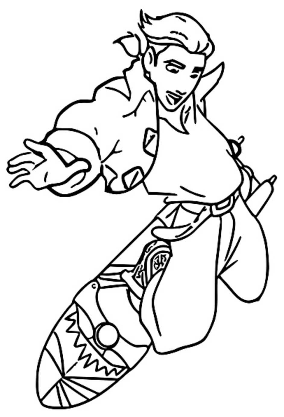 Treasure Planet tr 22 Coloring Pages_Cartoonized