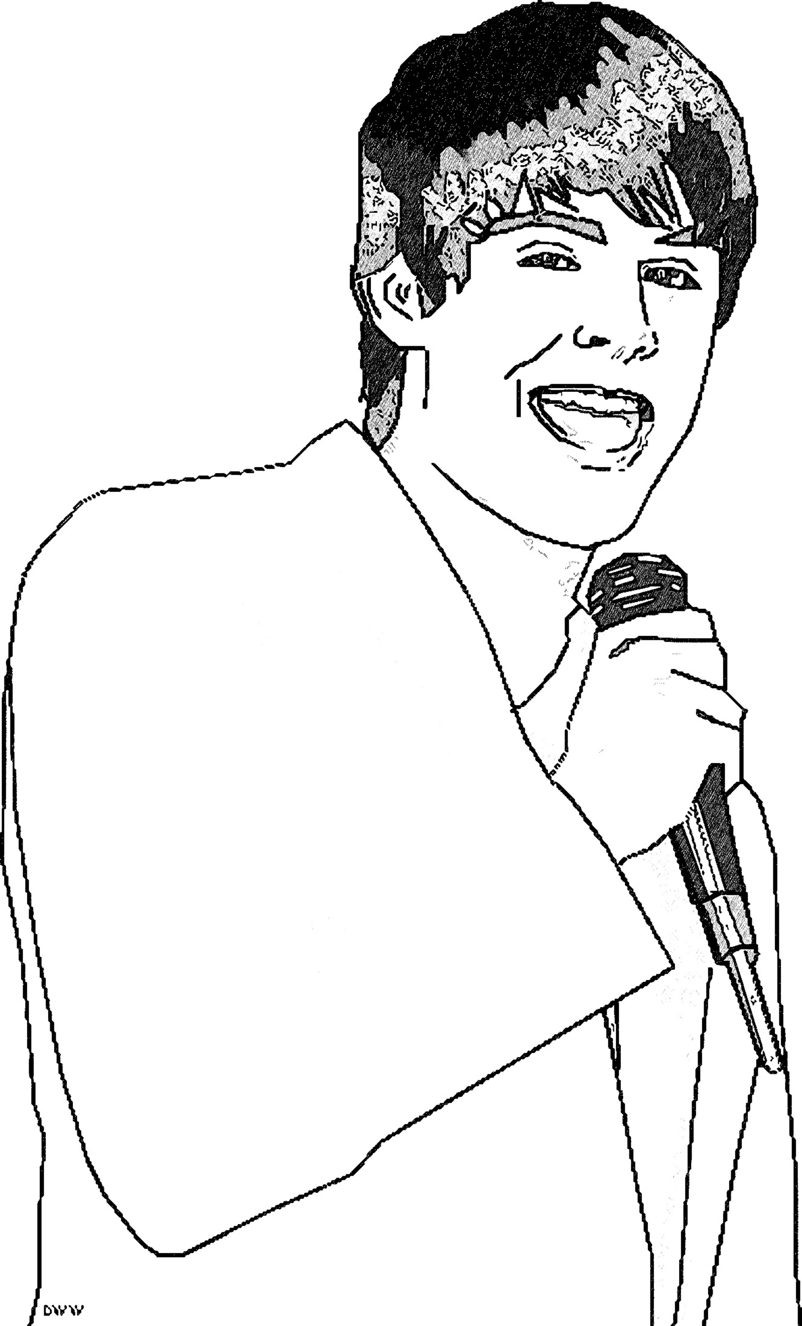 Troy Bolton Coloring Pages_Cartoonized_1