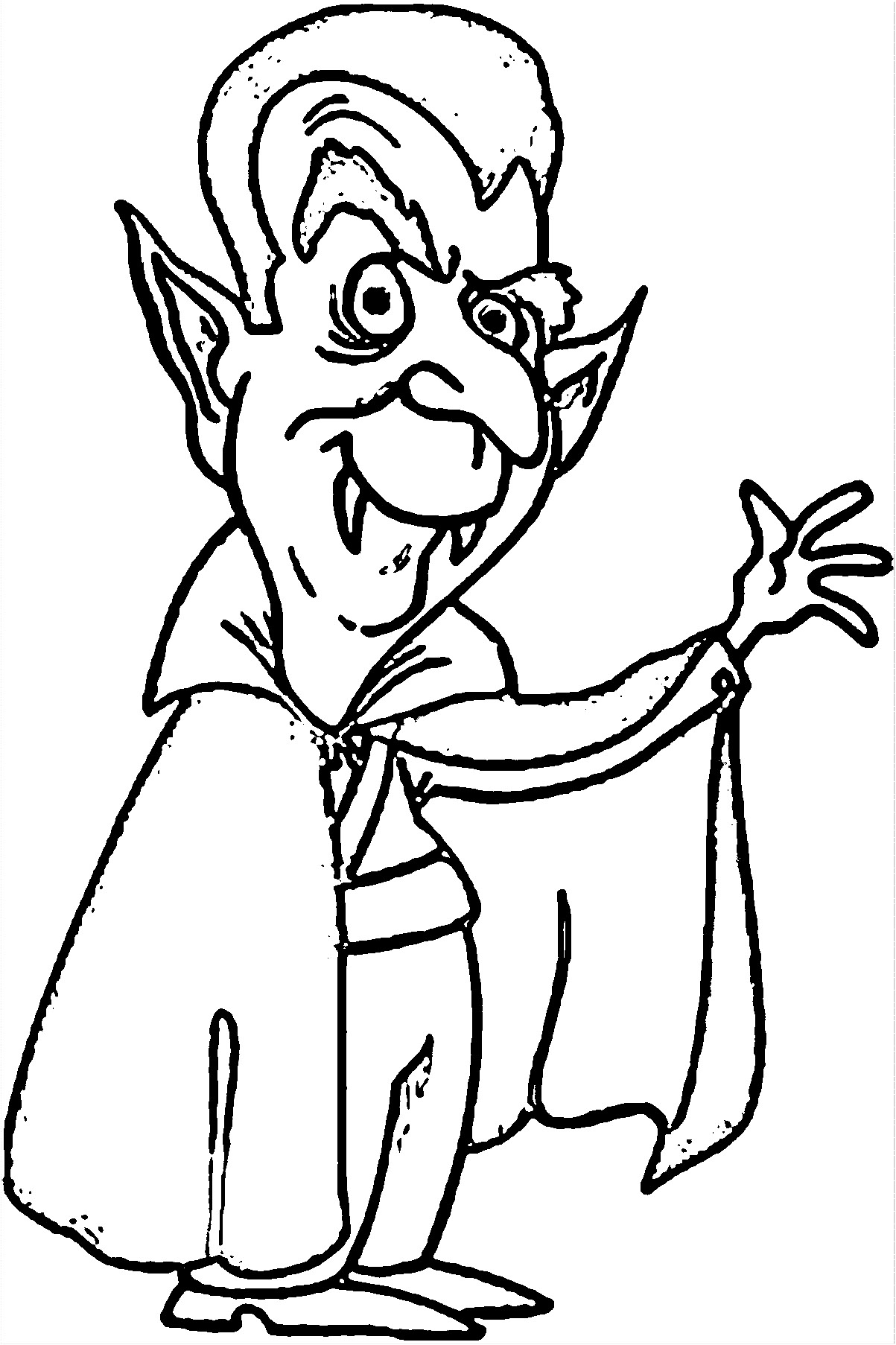 Vampire Coloring Page WeColoringPage 197