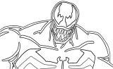 Venom Marvel We Coloring Page 05