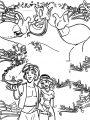 Walt Disney Prince Aladdin Walt Disney Characters Coloring Page  23