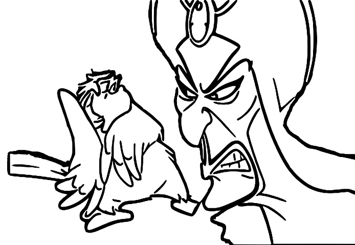 Walt Disney Prince Aladdin Walt Disney Characters Coloring Page  63