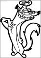 Weasel Baboon Me Free Printable Coloring Page