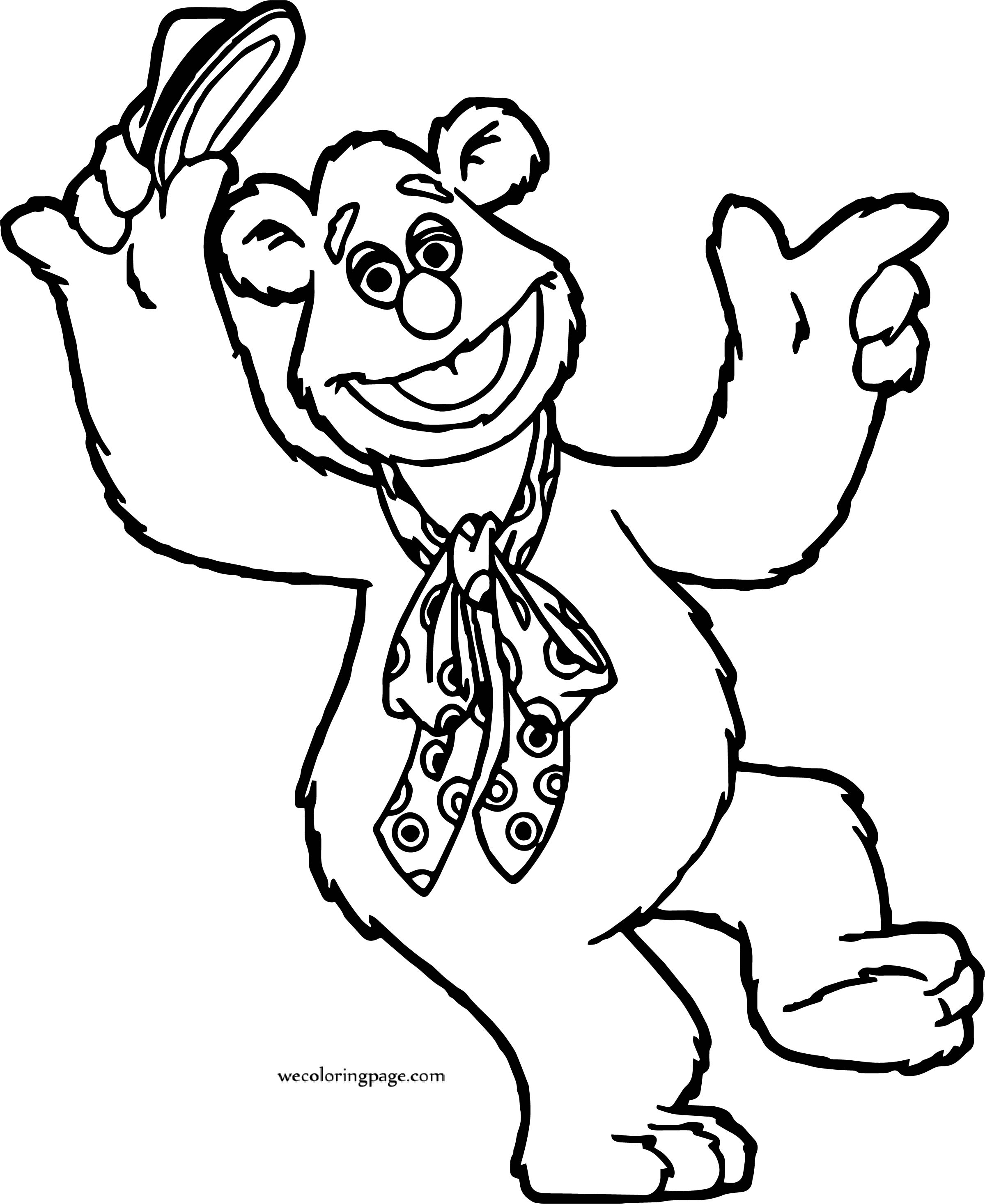 When Bear Coloring Page