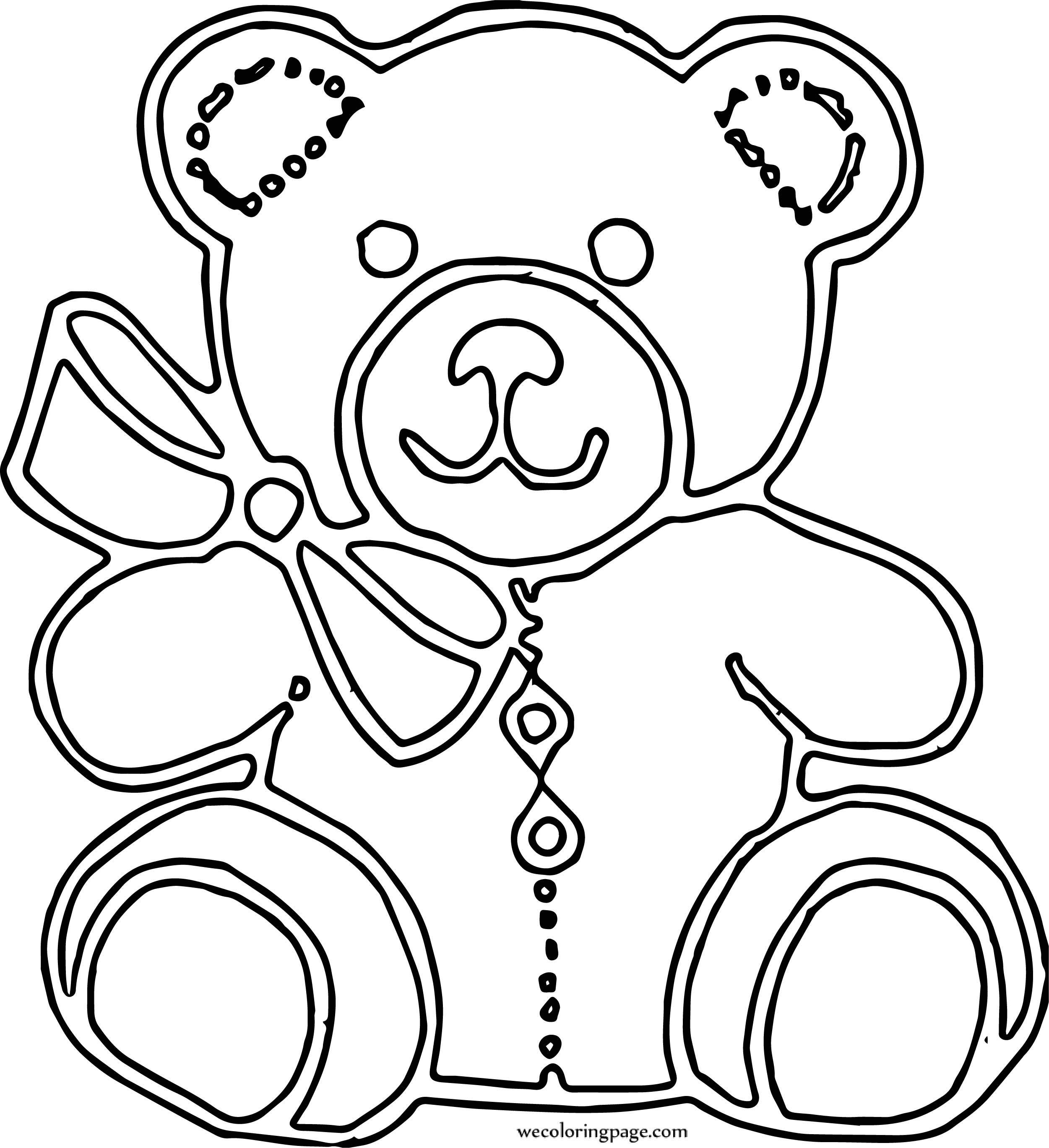 Which Bear Coloring Page