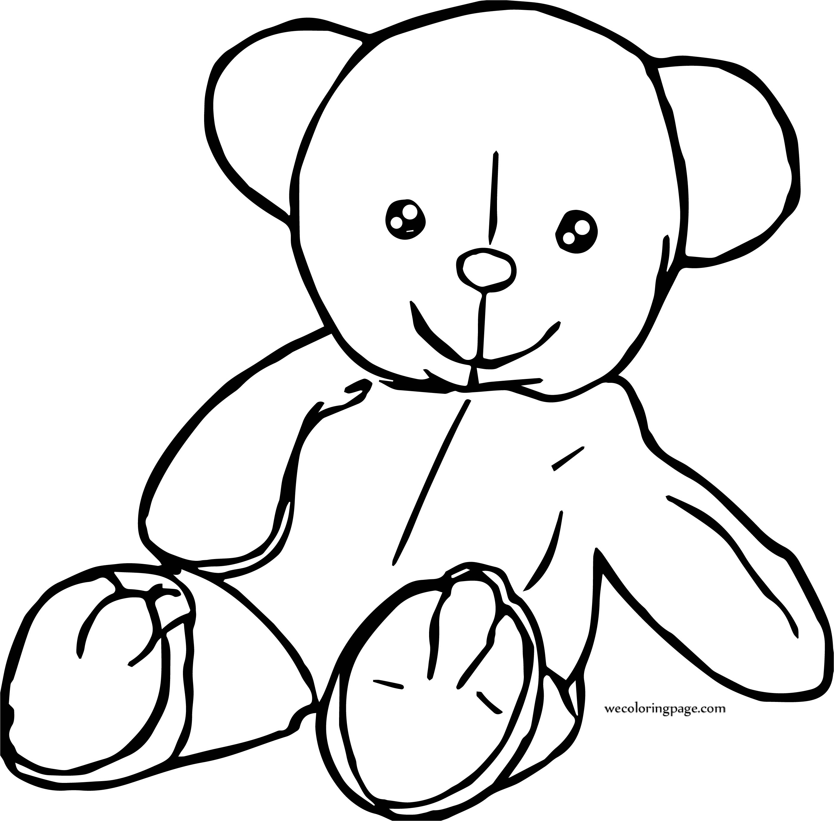 Will Bear Coloring Page