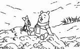 Winnie The Pooh Coloring Page 006