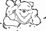 Winnie The Pooh Coloring Page 008