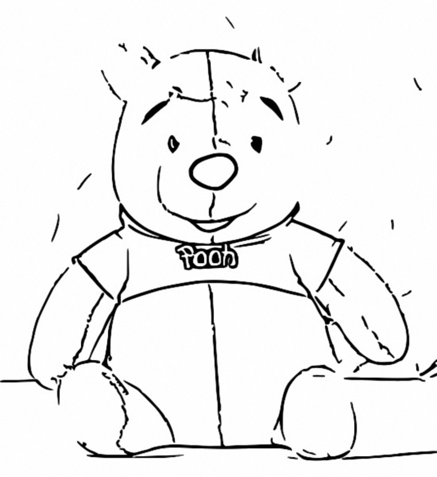 Winnie The Pooh Coloring Page 019