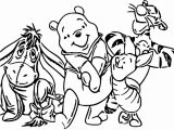 Winnie The Pooh Coloring Page 025