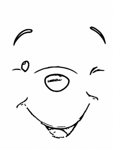 Winnie The Pooh Coloring Page 028