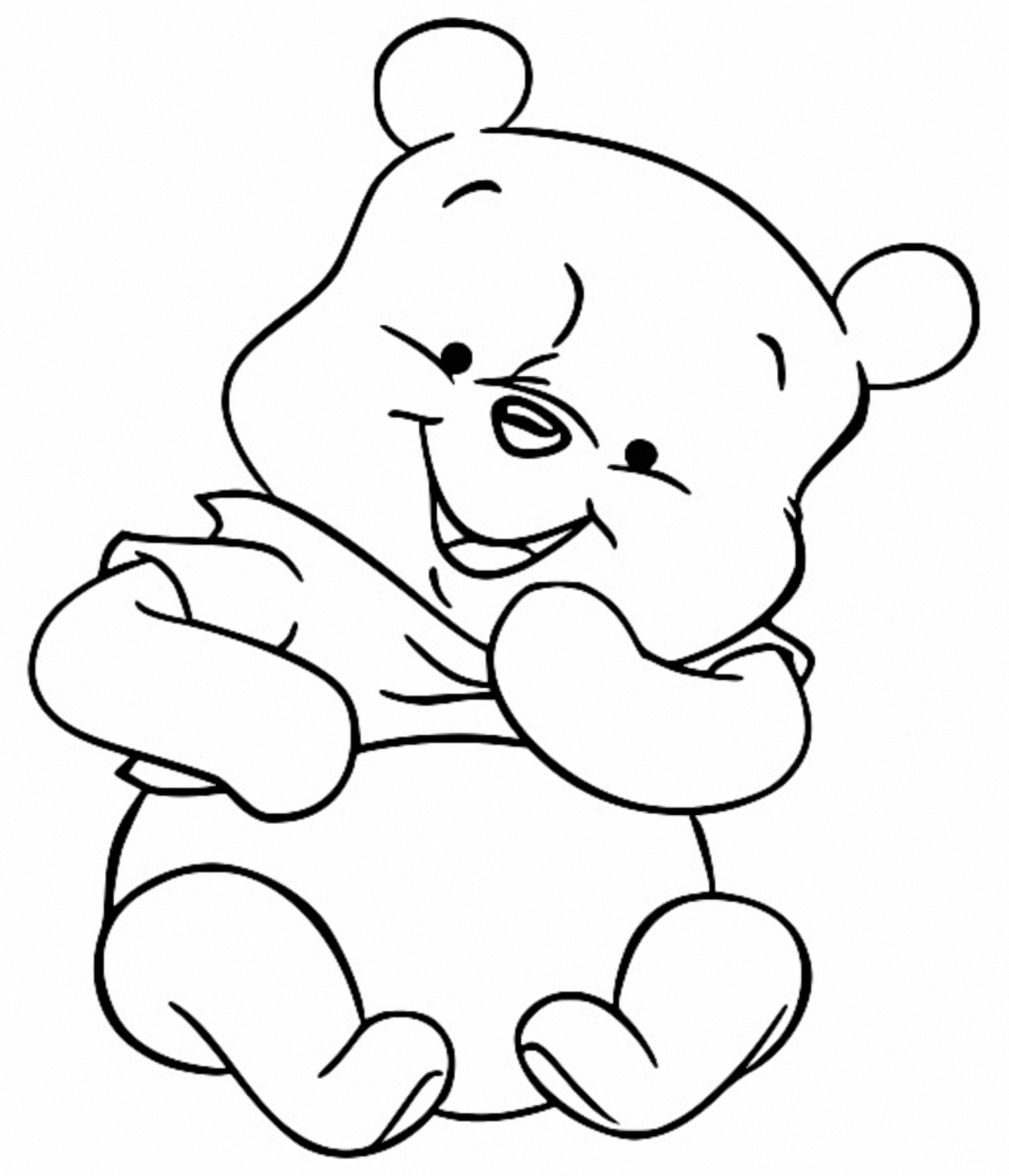 Winnie The Pooh Coloring Page 031