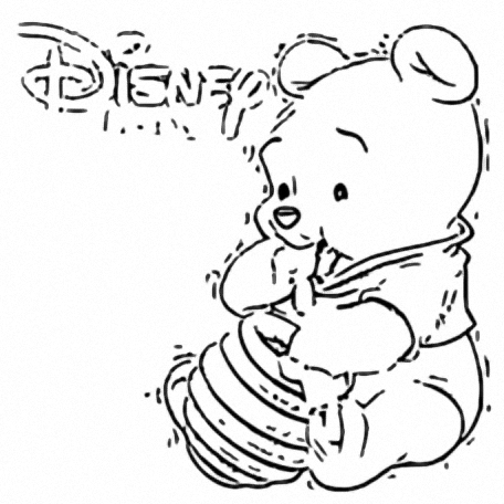 Winnie The Pooh Coloring Page 036