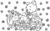 Winnie The Pooh Coloring Page 041