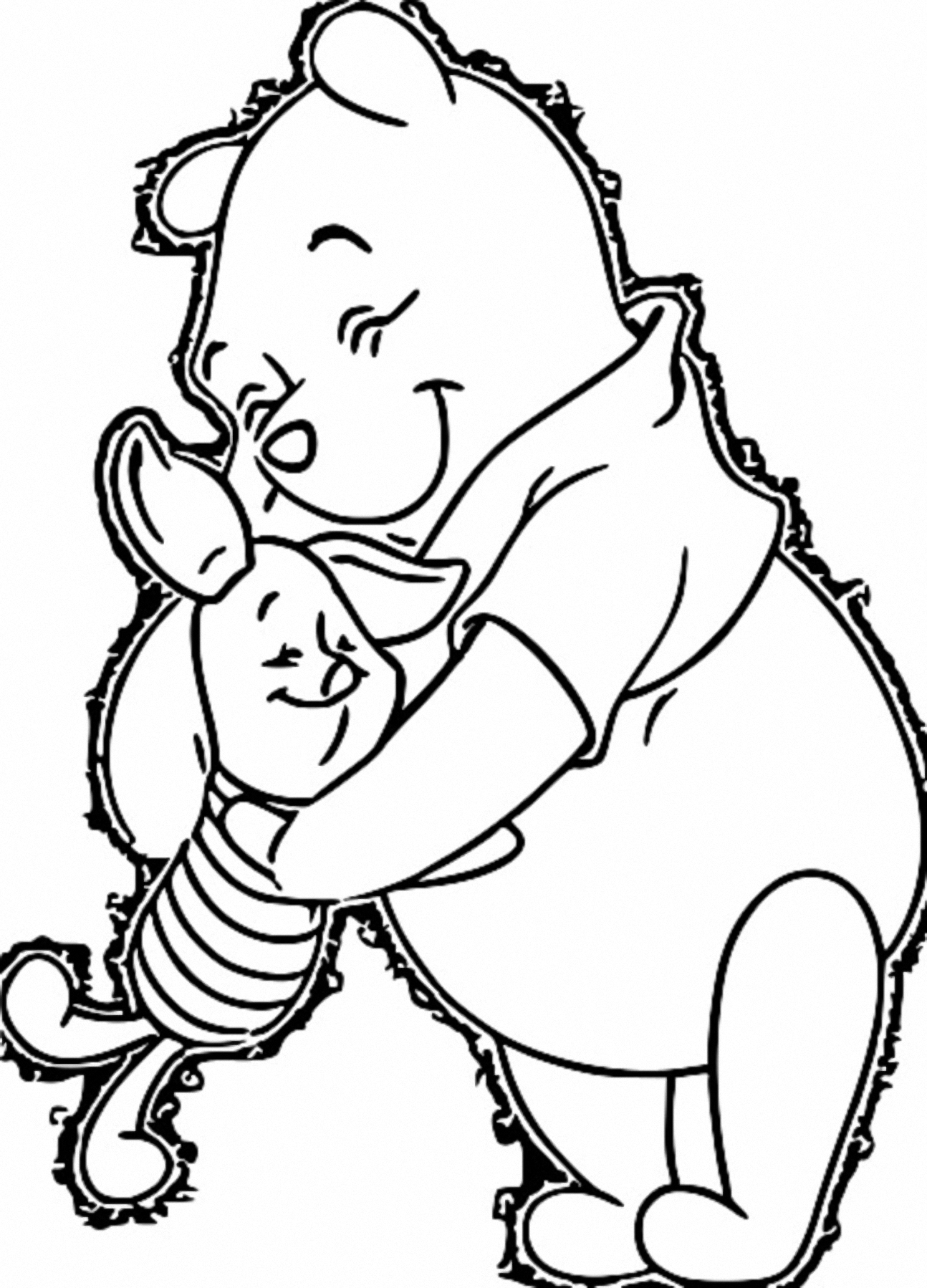 Winnie The Pooh Coloring Page 042