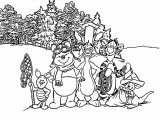 Winnie The Pooh Coloring Page 043