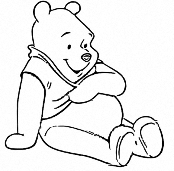 Winnie The Pooh Coloring Page 045