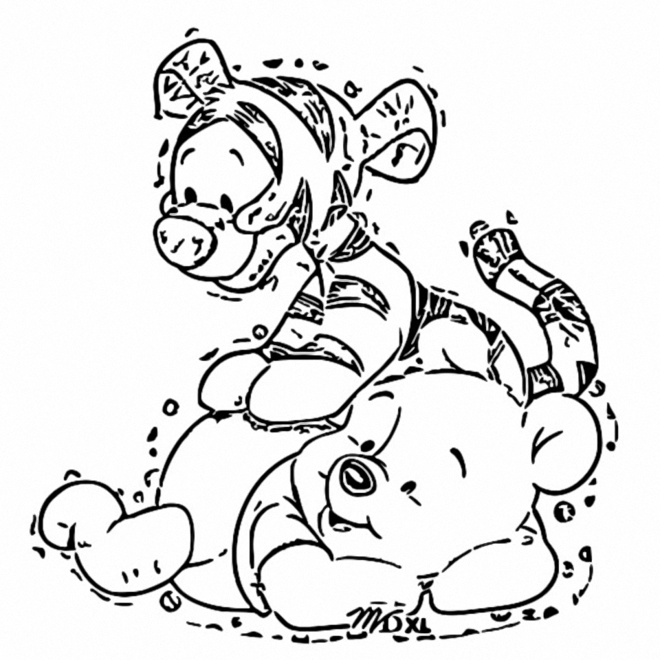 Winnie The Pooh Coloring Page 051