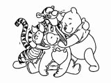 Winnie The Pooh Coloring Page 054