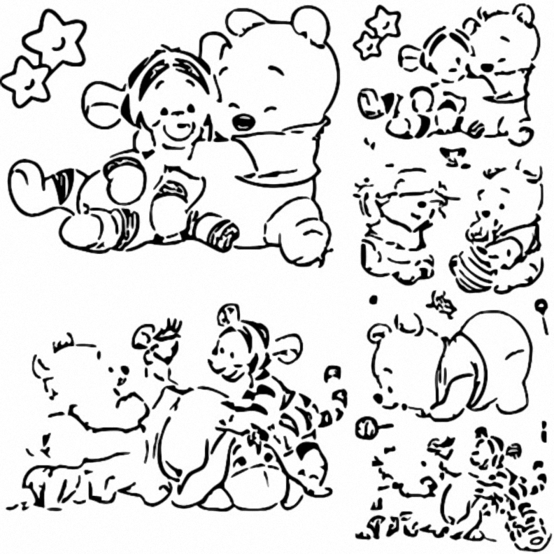 Winnie The Pooh Coloring Page 063