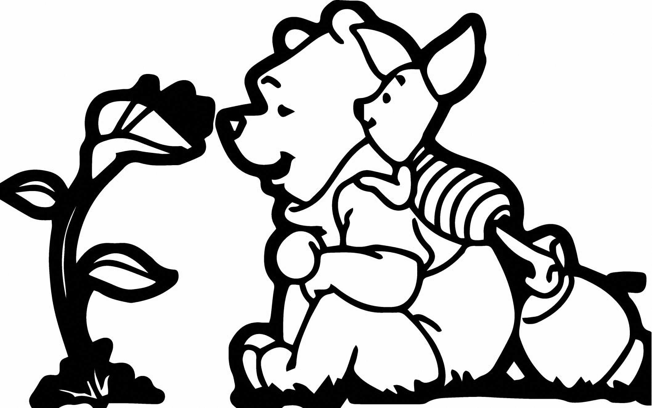 Winnie The Pooh Coloring Page 073