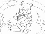 Winnie The Pooh Coloring Page 078