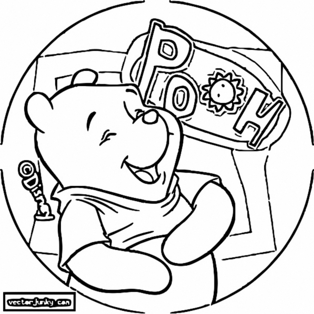 Winnie The Pooh Coloring Page 083