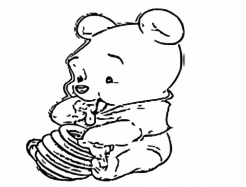 Winnie The Pooh Coloring Page 095