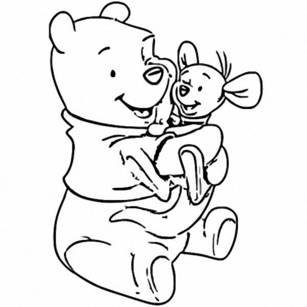 Winnie The Pooh Coloring Page 100