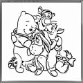 Winnie The Pooh Coloring Page 105
