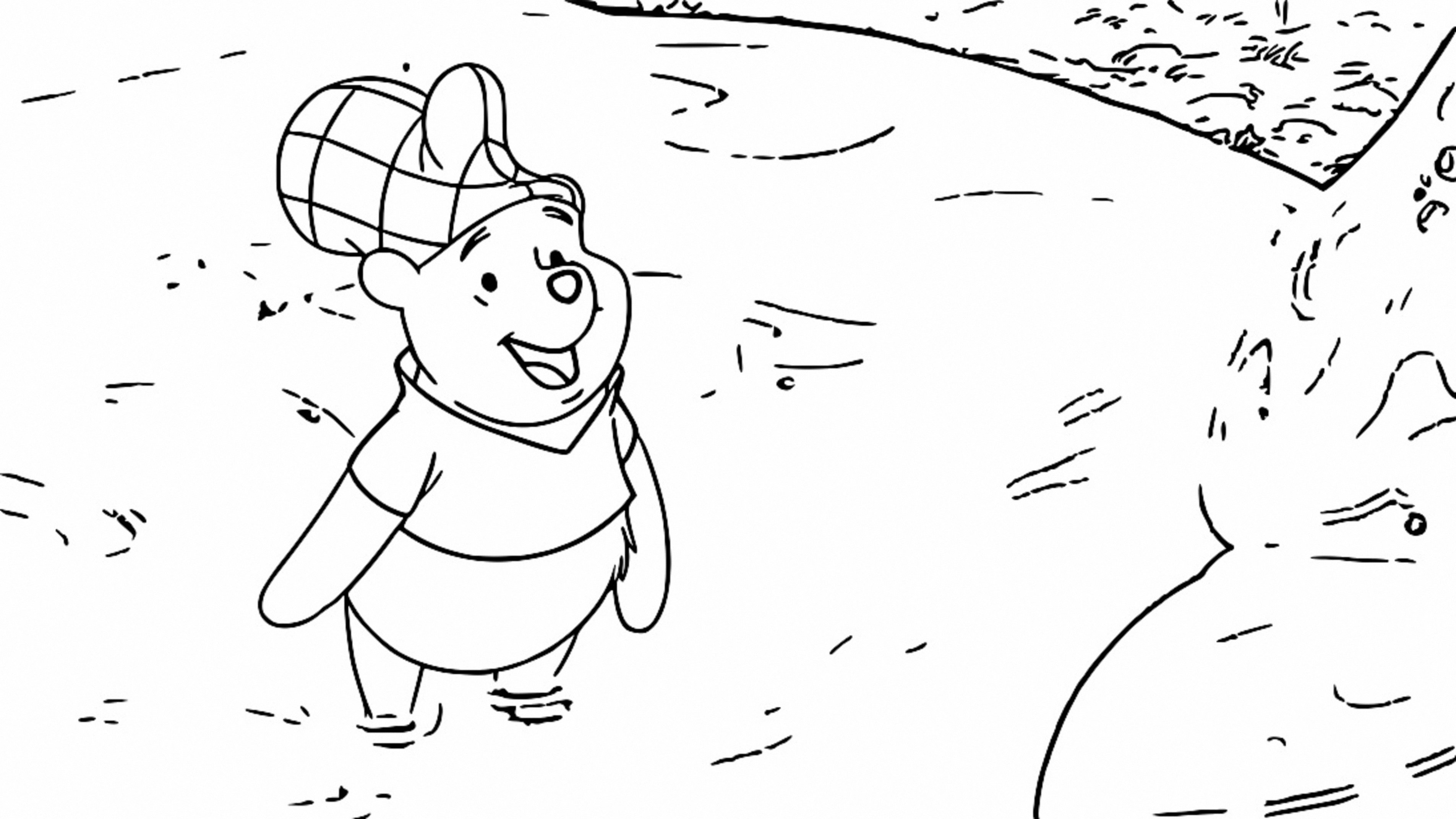 Winnie The Pooh Coloring Page 106