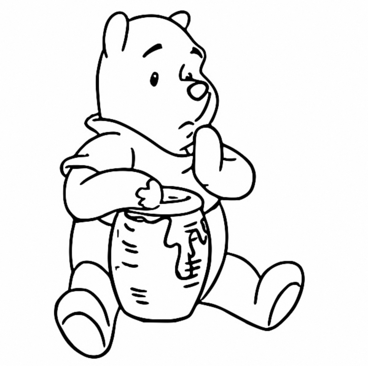 Winnie The Pooh Coloring Page 121