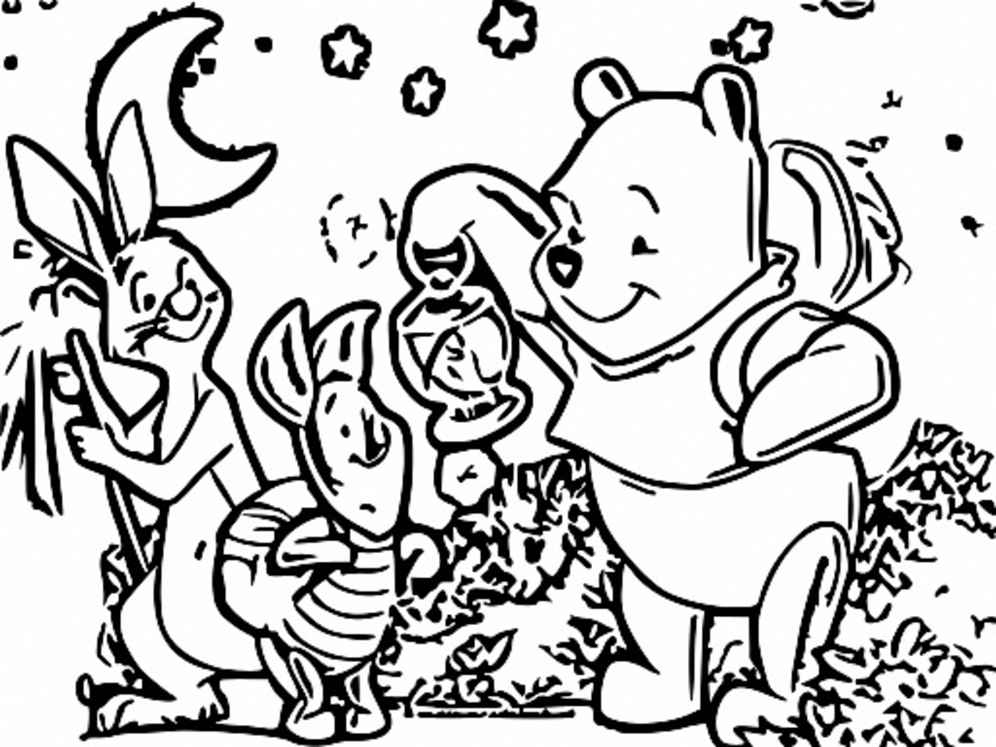 Winnie The Pooh Coloring Page 128