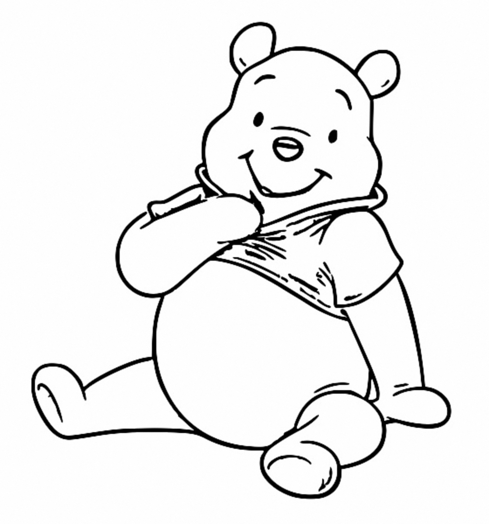 Winnie The Pooh Coloring Page 129