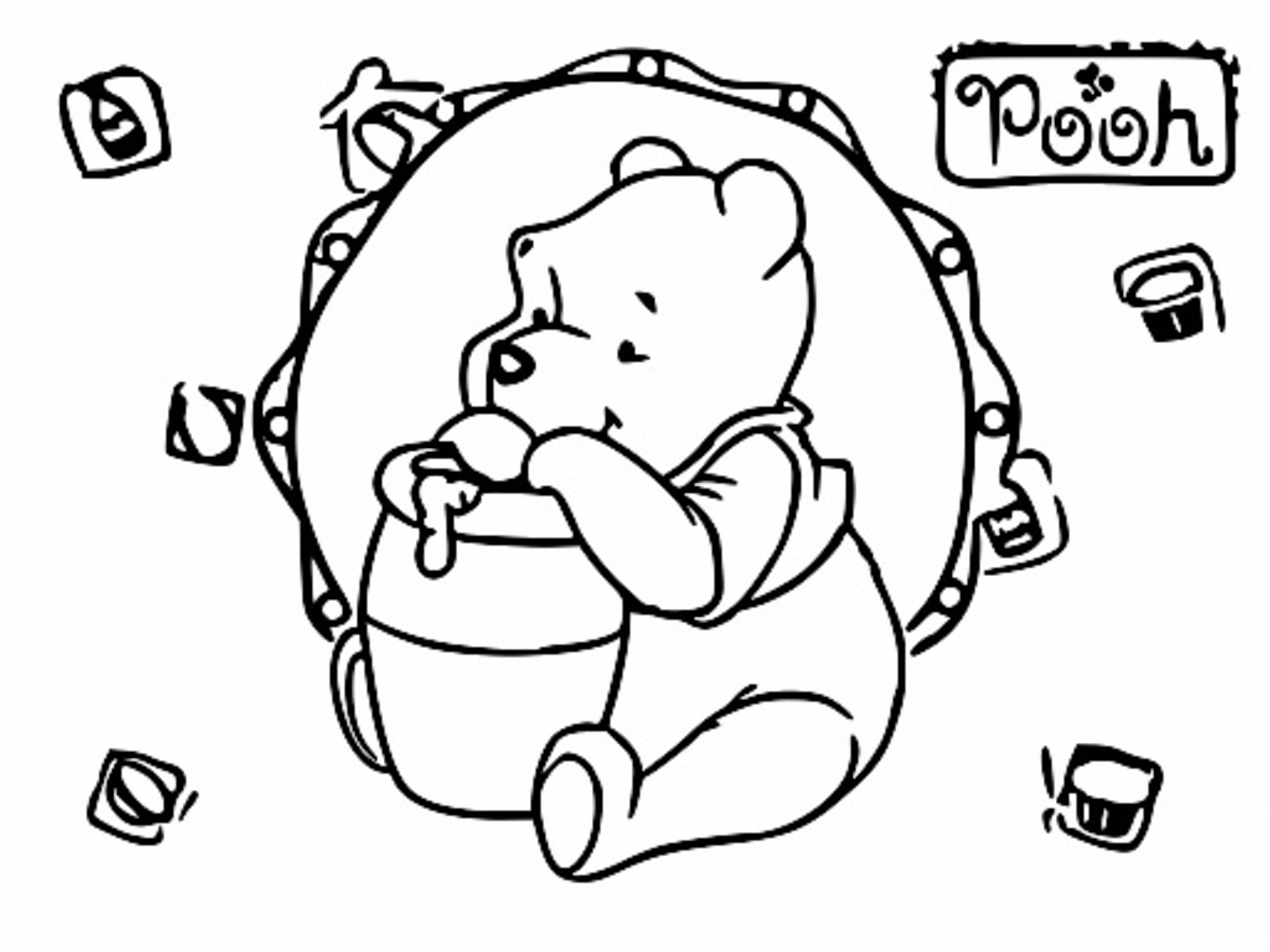 Winnie The Pooh Coloring Page 133
