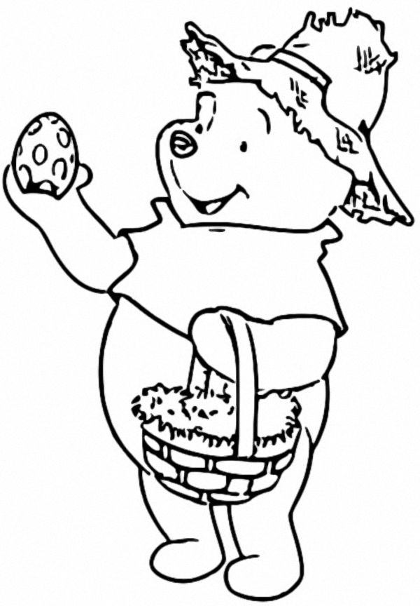 Winnie The Pooh Coloring Page 134