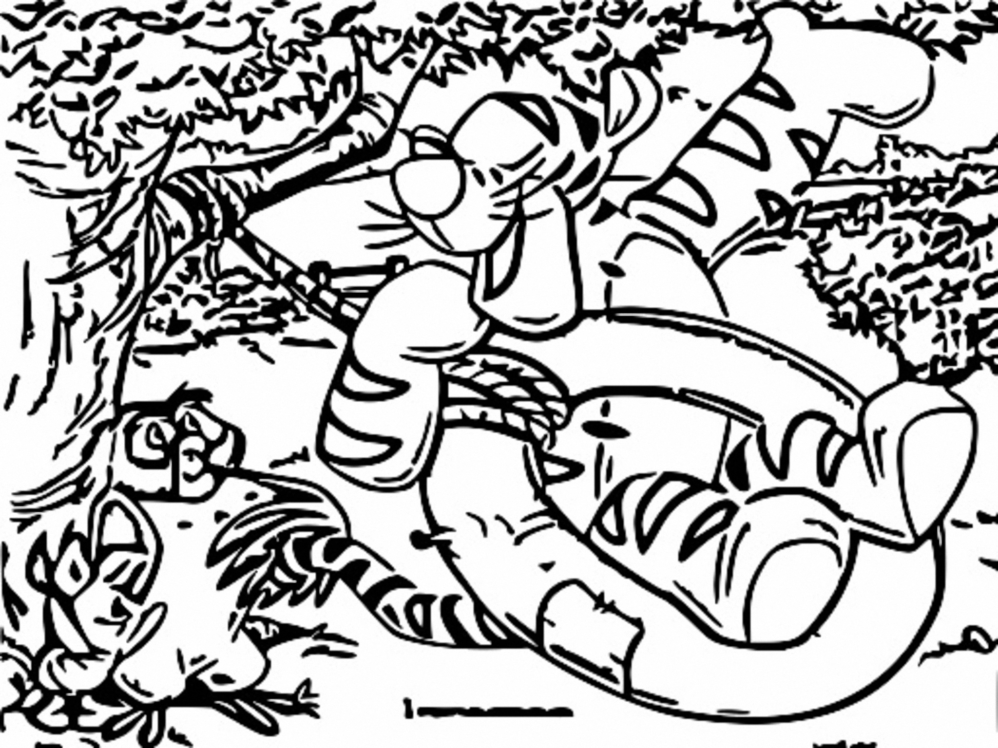 Winnie The Pooh Coloring Page 138